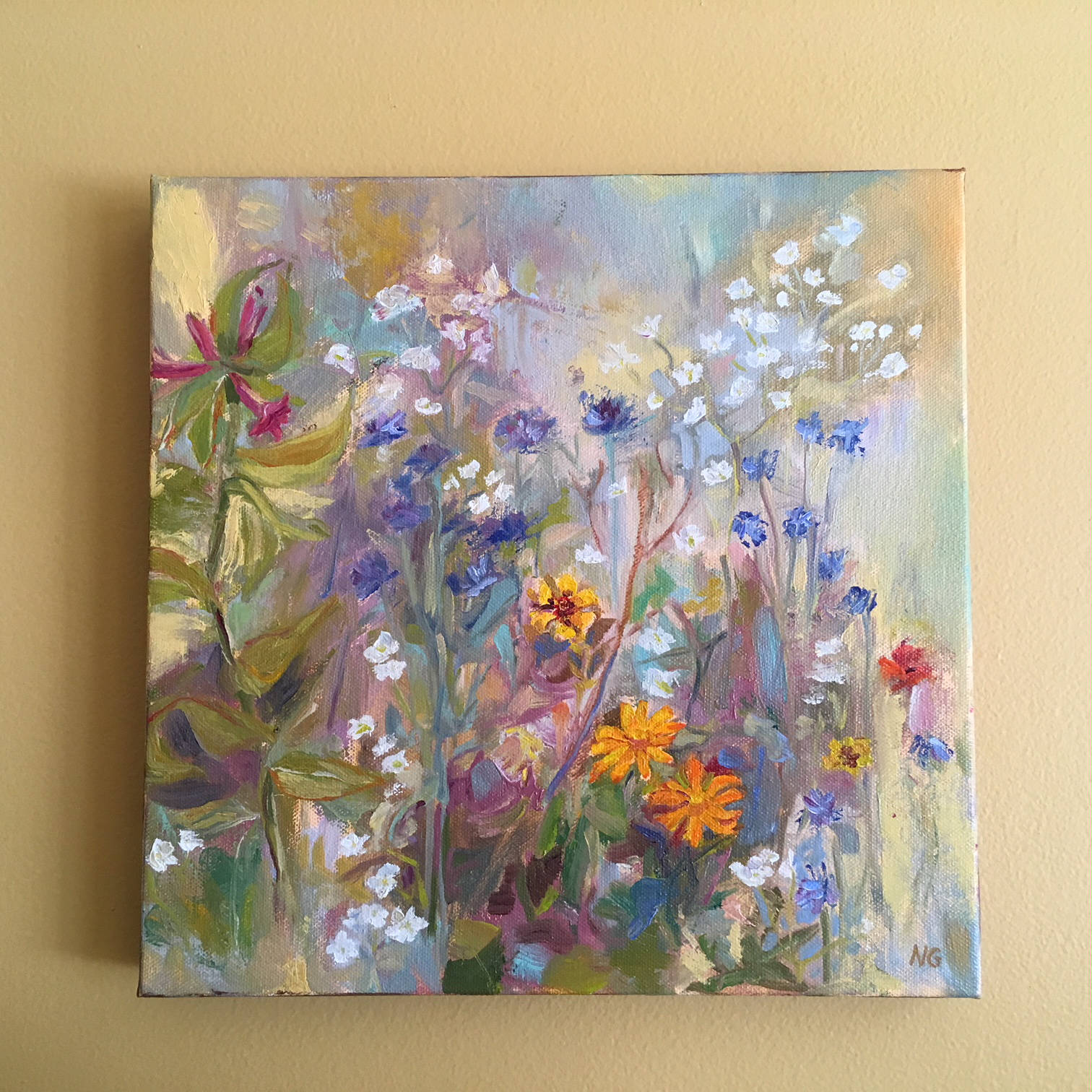 Painting on Canvas without Frame